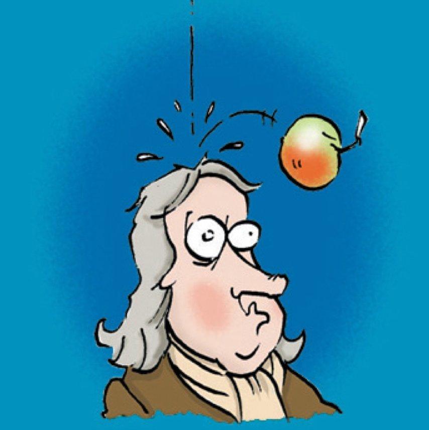 newton-apple
